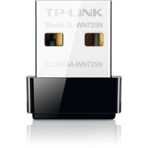 Tp-Link TL-WN725N IEEE 802.11n USB - Wi-Fi Adapter  -