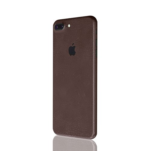 AppSkins Rückseite iPhone 7 PLUS Full Cover - Leather brown