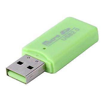 Amazon.com: Mini adaptador de lector de tarjetas de memoria ...