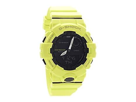 Casio Reloj Digital para Hombre de Cuarzo con Correa en Resina GBA-800-9AER: Amazon.es: Relojes