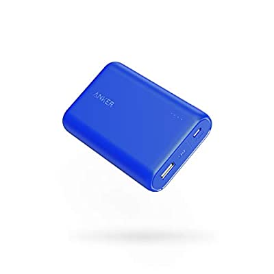 Anker PowerCore 10000 Portable Charger, One of The Smallest and Lightest 10000mAh External Battery, Ultra-Compact High-Speed-Charging-Technology Power Bank for iPhone, Samsung Galaxy and More (Blue) - 4028139 , B07H7M1Z1Z , 454_B07H7M1Z1Z , 36.99 , Anker-PowerCore-10000-Portable-Charger-One-of-The-Smallest-and-Lightest-10000mAh-External-Battery-Ultra-Compact-High-Speed-Charging-Technology-Power-Bank-for-iPhone-Samsung-Galaxy-and-More-Blue-454_B07H
