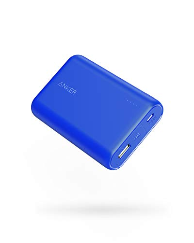 6700 High Speed Usb - Anker PowerCore 10000 Portable Charger, One of The Smallest and Lightest 10000mAh External Battery, Ultra-Compact High-Speed-Charging-Technology Power Bank for iPhone, Samsung Galaxy and More (Blue)