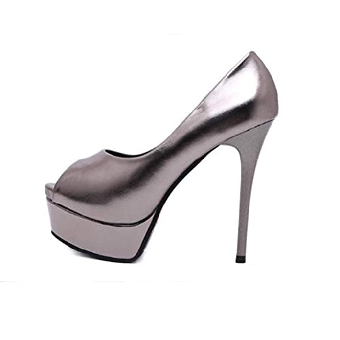 Kokqsx-scarpe Col Tacco Scarpe Da Sposa Le Alto Nightclub