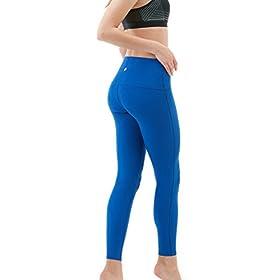 - 31PFrsCBVXL - Yoga Leggings High-Waist Tummy Control w Hidden Pocket