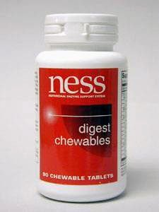 Digest Chewables (NESS Enzymes - Digest Chewables 90 Tablets)