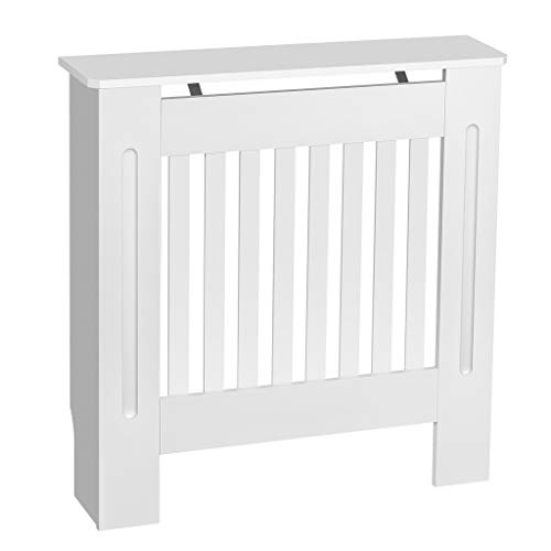 Engineered Grey Small YAKOE Modern Radiator Cover Wood MDF Wall Cabinet in 4 Sizes
