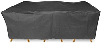 家具カバー ファニチャー ファニチャーカバー ガーデン家具カバー パティオセットカバー 防水 オックスフォード生地 保護カバー テーブルと椅子 ガーデン 庭用保護カバー シャンボ14011 (Size : 350x260x90cm)
