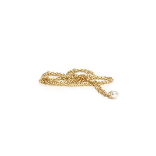 Trollbeads Fantasy 14 Ct. Gold Necklace with Pearl 80 cm TAUFA-00003
