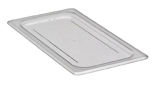 Cover Pan Camwear Food (Cambro 30CWC135 Clear Camwear 1/3 Size Flat Food Pan Cover)