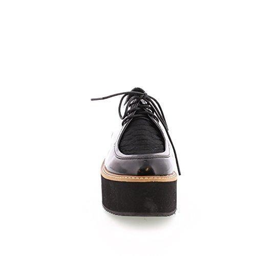 Sixtyseven zapato con plataforma Livian Negro