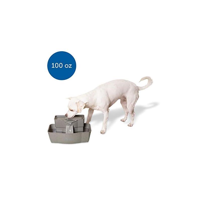 dog supplies online petsafe drinkwell multilevel plastic fountain