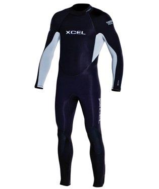 XCEL 3mm Thermoflex メンズ フルウェットスーツ サーモバン裏地付き  ML/Short