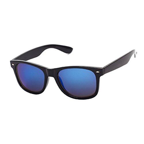 Vintage Azul Negro UV400 Inlefen sol Men Eyewear gafas Sunglasses Brillante Fashion Classic Driving polarizadas mujer de qR6nTRBw