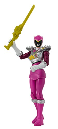 Power Rangers Dino Super Charge - 5 Dino Drive Pink Ranger Action Figure