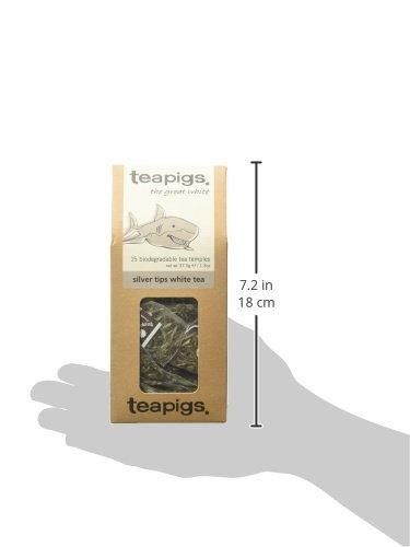 teapigs Silver Tips White Tea, 15 Count
