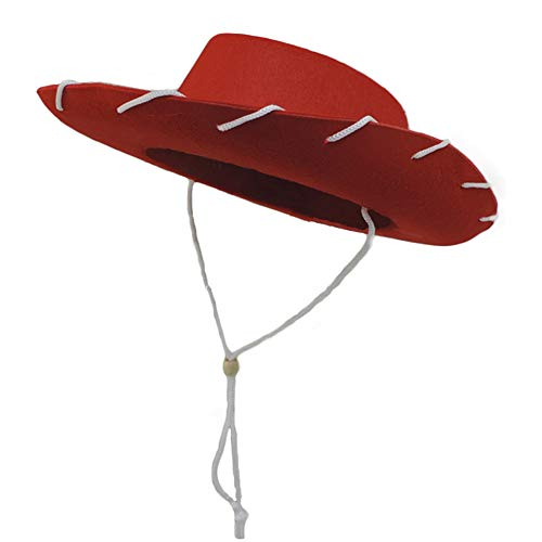 Child Red Cowboy Hat - Novelty Giant Children's Western Woody Style
