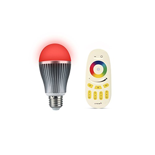 ENRG LED BEST SELLING BULB PRISM-WIRELESS REMOTE CONTROLLED WITH 256 COLOURS SET OF 1 PC BULB AND 1...