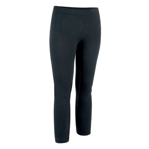 (Flite F Lite Women's Merino Long Tight Black Medium White)