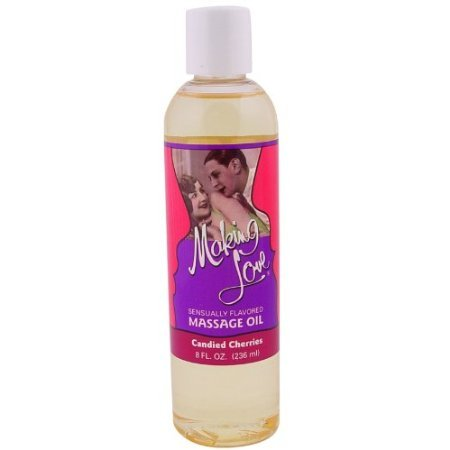 1 Making Love Massage Oil Lotion Edible Candied Cherry Flavored Cream Perfect Product Fast Shipping