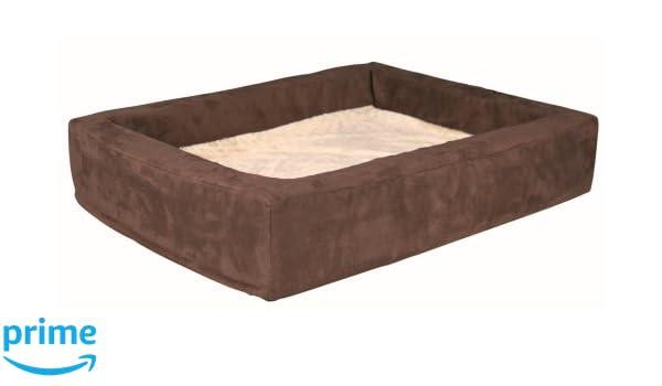 Trixie Cama Viscoelástico Memory, 100x80 cm, Marrón/Beige: Amazon.es: Productos para mascotas