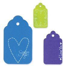 (Ellison Sizzi by Originals Die-Large Tags, Scallop Combo #2)