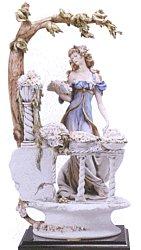 Giuseppe Armani Figurine The Flower Girl 696-E