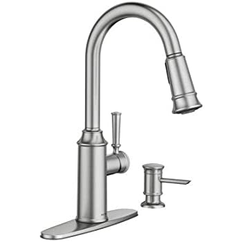 Moen 87731srs Glenshire Spot Resist Stainless One Handle