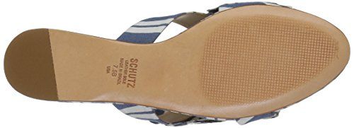 Blue Ilaria Schutz Sandal Women's Slide Dress wF6ZY4q