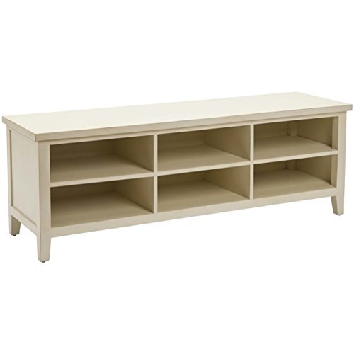 Console Low - Safavieh American Home Collection Orford Off White Low Bookcase