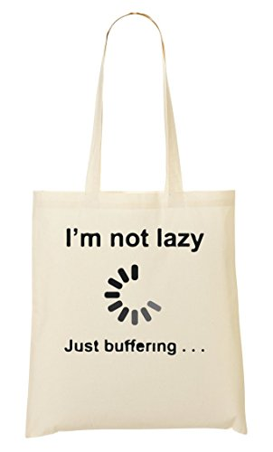 I'M Not I'M Buffering Funny Cool Sac Fourre-Tout Sac À Provisions