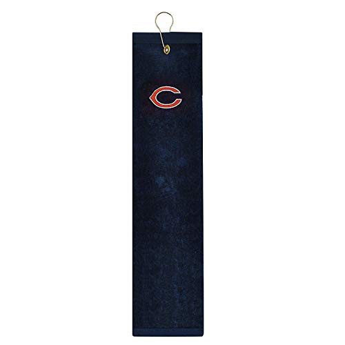 - Chicago Bears Embroidered Tri-Fold Golf Towel