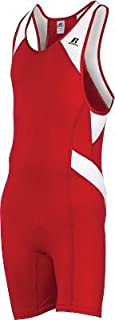 Russell Athletic Débardeur Wrestling Sprinter Homme Combinaison Extra Large XL Rouge et... Russell Athletics