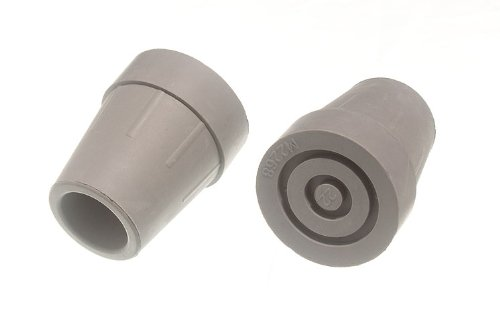 200 X Walking Stick Crutch Frame Ferrule Heavy Duty 7/8 Inch 22Mm Id by DIRECT HARDWARE
