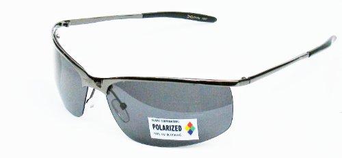 X Loop Polarized Sunglasses XP3 Gunmetal Grey