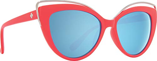 Julep Coral - Gray with Light Blue Flash Mirror (Sunglasses Pink Spy)