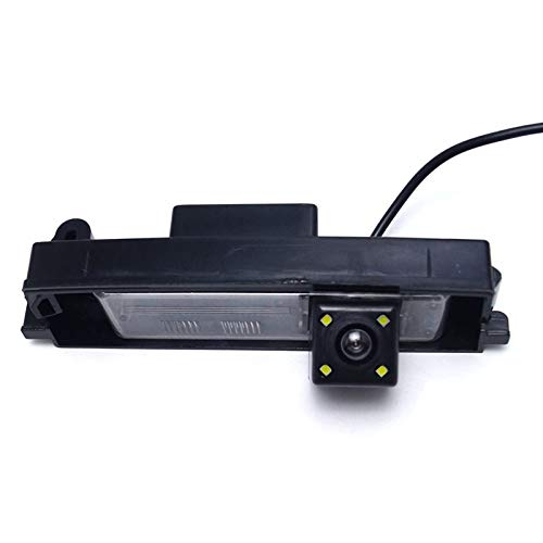 FEELDO Special Car Rearview Camera With LED For Toyota RAV4/Porte/Platz/Vitz/Yaris Hatchback Reversing Camera