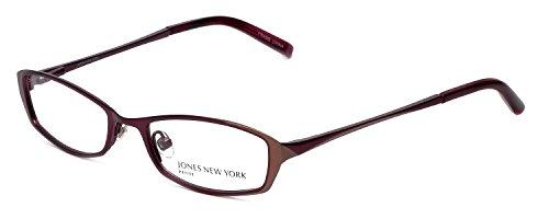 Jones New York Womens Lightweight & Comfortable Designer Reading Glasses J122 in Wine - Jones Glasses York New