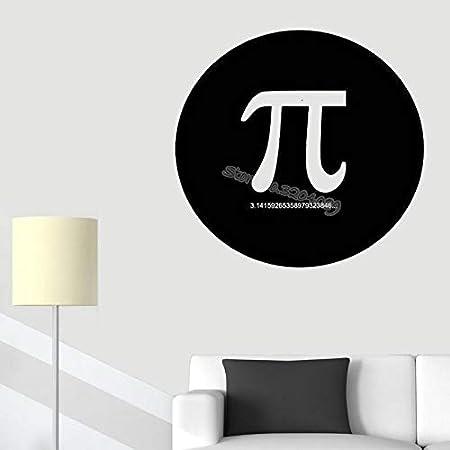 yiyiyaya Pi Matemáticas Etiqueta de la Pared Decoración de la ...