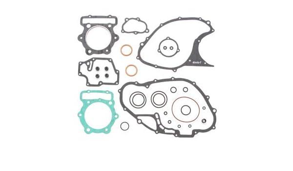 Honda FT500 Ascot Top /& Bottom End Kit Engine Gasket Set 1 Cylinder Model