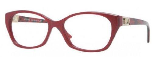 Versace Eyeglasses VE 3170B RED 5026 - Versace Eyeglass Red Frames