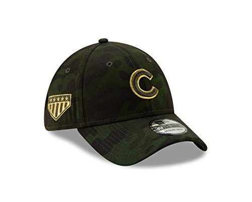 - New Era Chicago Cubs 2019 MLB Armed Forces Day 39THIRTY Flex Hat - Camo (Med/Large)
