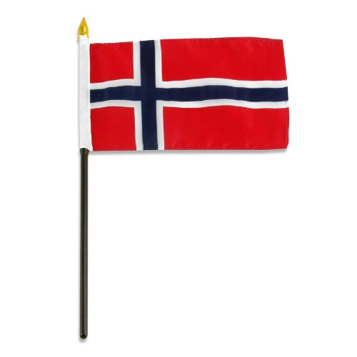 US Flag Store Norway Flag, 4 by 6-Inch