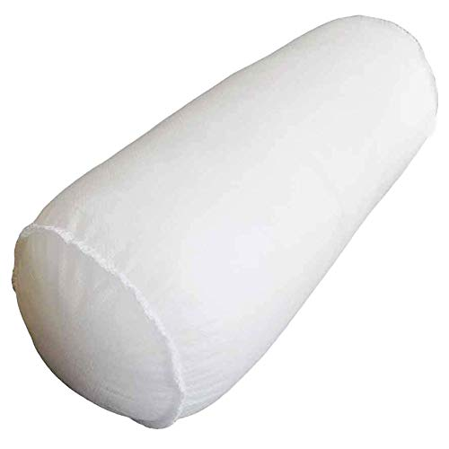 4 X 12 inches NECKROLL pillow Sham Stuffer White Hypoallergenic pillow Insert Premium Made in USA by Mybecca