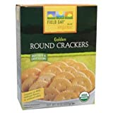 Field Day Organic Golden Round Crackers, 8 oz