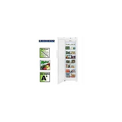 Liebherr SGN 3010, 330 kWh/year, A+, 41 Db, Plata, 1850 mm, 600 mm ...