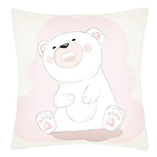 - Sanmenxia Decor Fresh Style Throw Pillow Case Hand Painted Cushion Cover Pillowcases 18X18 inches(Multicolor)
