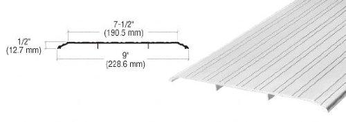 CRL Aluminum Saddle Threshold 9'' Wide 1/2'' High - 73 in long