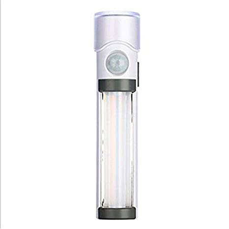 SODIAL 3-en-1 Sensor LED Luz de noche Linterna Luz inteligente infrarroja del