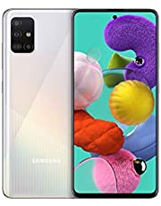 Samsung Galaxy A51 (16.4cm (6.5 Zoll) 128 GB interner Speicher, 4 GB RAM, Dual SIM, Android, prism crush white) Deutsche Version