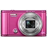 Casio Exilim Selfie Digital Camera EX-ZR3600VP (Vivid Pink) - International Version (No Warranty)